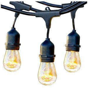 Waterproof Outdoor String Lights 24ft
